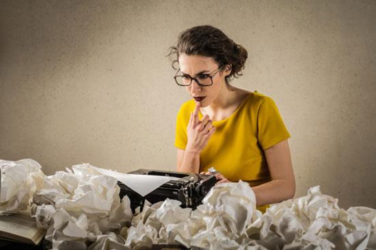 atunci cand scrii o carte