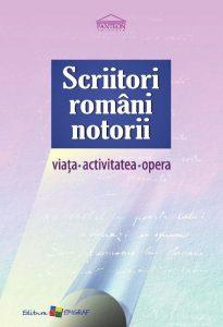 Scriitori romani notorii